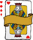 Playing card style Jack illustration Royalty Free Stock Photo