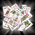 Playing Cards Royalty Free Stock Images