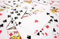 Playing cards close up Royalty Free Stock Photo
