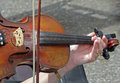 Playing the Fiddle Stock Photography