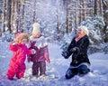 Giocare neve