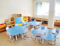 Playroom in a preschool Royalty Free Stock Photography