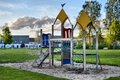 Playset at a playground in beek en donk the netherlands Royalty Free Stock Image
