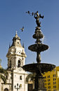 Plaza de Armas, Lima, Peru Royalty Free Stock Photos