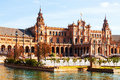 Plaza de Espana. Sevilla, Spain Royalty Free Stock Photo
