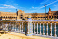 Plaza de Espana. Seville Royalty Free Stock Photo