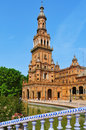 Plaza de Espana in Seville, Spain Royalty Free Stock Photos
