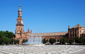 Plaza de Espana, Seville, Span. Royalty Free Stock Photography