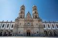 Plaza de las Americas and church, Zapopan, Guadalajara, Mexico Royalty Free Stock Photo
