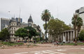 Plaza de Mayo Buenos Aires Royalty Free Stock Photography