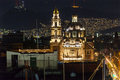 Plaza de Santa Domingo Churches Zocalo Mexico City Mexico Royalty Free Stock Photo