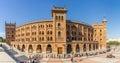 Plaza de Toros de Las Ventas is a famous bullring located in Madrid Royalty Free Stock Photo