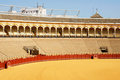 Plaza de Toros in Seville Stock Images
