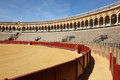 Plaza de Toros in Seville, Spain Stock Photos