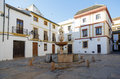 Plaza del potro in cordoba spain cited by cervantes don quixote Royalty Free Stock Photo