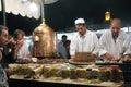 Plaza Djem el fnaa in Marrakech Royalty Free Stock Photo