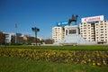 Plaza Italia Royalty Free Stock Photo
