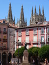 Plaza Mayor, Burgos (Spain ) Stock Image
