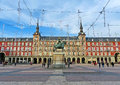 Plaza Mayor de Madrid, Spain Royalty Free Stock Photo