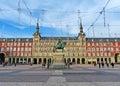 Plaza Mayor de Madrid, Spain Royalty Free Stock Photo