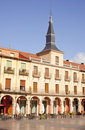 Plaza Mayor, Leon Stock Image