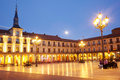 Plaza Mayor, Leon Royalty Free Stock Photos