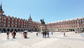 Plaza Mayor, Madrid, Spain Royalty Free Stock Photo