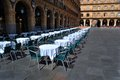 The Plaza Mayor in Salamanca Royalty Free Stock Images