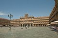 The Plaza Mayor of Salamanca Royalty Free Stock Images