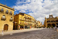 Plaza Mayor Square, Ciudad Rodrigo, Salamanca Royalty Free Stock Photo