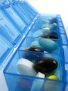 Píldoras y medicinas Fotografía de archivo libre de regalías