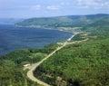 Pleasant Bay View in Cape Breton Nova Scotia, Canada Royalty Free Stock Photo
