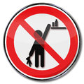 Please keep products out of reach from children Royalty Free Stock Photo