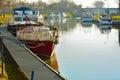 Pleasure boats Royalty Free Stock Photo