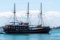 Pleasure ship Royalty Free Stock Photo