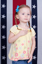Pledge Allegiance Royalty Free Stock Images