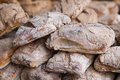 Plenty of fresh loafs of bread shallow dof Stock Image