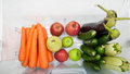 Plenty of fruits and vegetables. Royalty Free Stock Photo