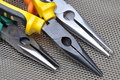Pliers tools for electrician Royalty Free Stock Photo