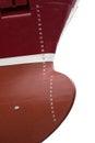Plimsoll line on vessel international load markings ship Royalty Free Stock Photography