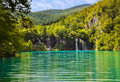 Plitvice lakes in Croatia Royalty Free Stock Image