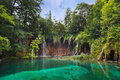 Plitvice lakes in Croatia Stock Image
