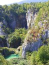 Plitvice lakes croatia national park is the largest and oldest national park in founded in its area is beautiful karst of Stock Images