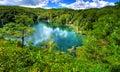 Plitvice lakes croatia s national park Royalty Free Stock Photos