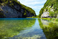 Plitvice Lakes National Park (Croatia) Royalty Free Stock Photography