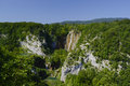 Plitvice lakes national park in croatia Stock Photos