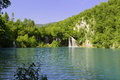 Plitvice lakes national park in croatia Stock Photography