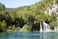 Plitvice Nationalpark Stockbild