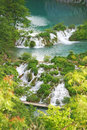 Plitvice waterfalls Stock Photography