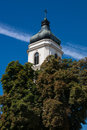 Plock old town in poland the summer Stock Image